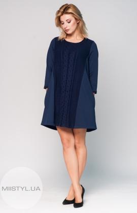 Платье Rica Mare RM1588-16DD темный синий