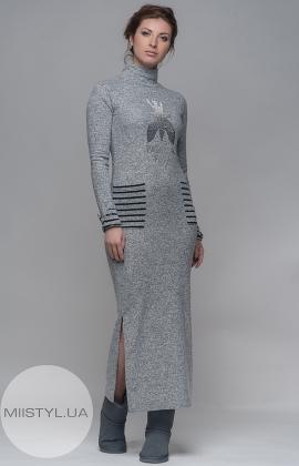 Платье Pere 7839 серое
