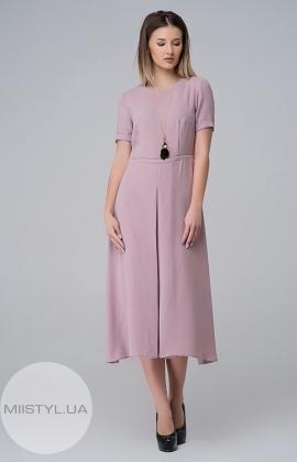 Платье November 40301 Бежевый