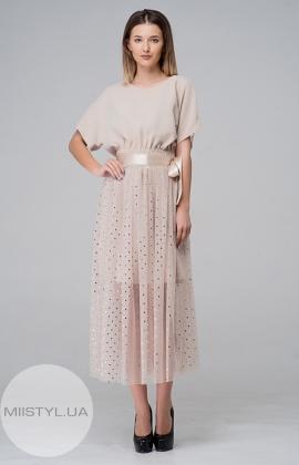 Платье Moi Angel 6307 Бежевый