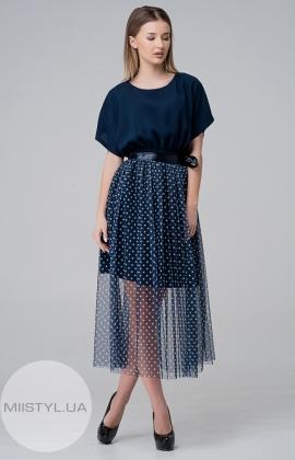 Платье Moi Angel 6307 Темно-синий