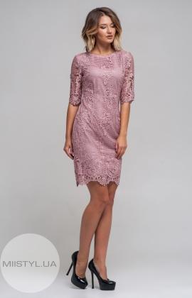 Платье Lady Form 9254 Пудра