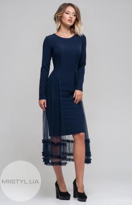 Платье Moi Angel 17K6006 Темно-синий