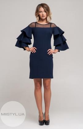 Платье Moi Angel 17K5988 Темно-синий