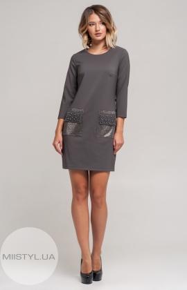 Платье Kosmika 3730 Серый
