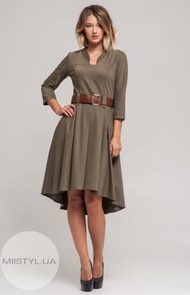 Платье Lafilazzi 3409 Хаки