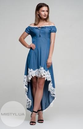 Платье Nikolo Polini 2000 Джинсовый