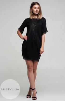 Платье Nikolo Polini 2064 Черный/Люрекс