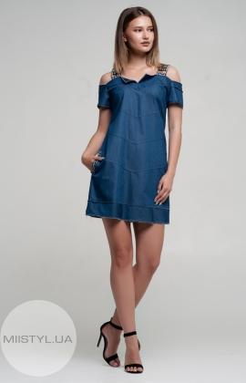 Платье Nikolo Polini 1194 Джинсовый