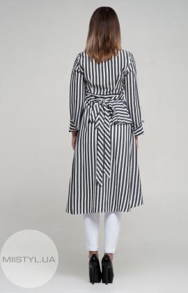 Костюм Lady Morgana 4636 Белый/Серый/Полоска