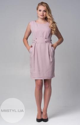 Платье Perle donna 6348 фрезовое