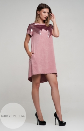Платье Nikolo Polini 2067 Темно-розовый