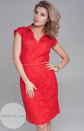 Платье November 30311 красное