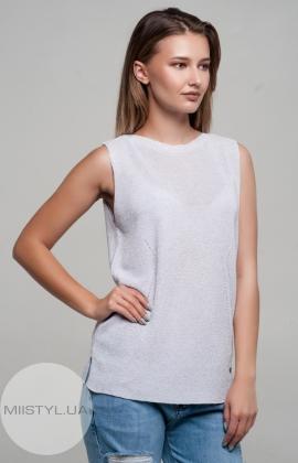 Блуза Serianno 10C4178 Лиловый/Люрекс