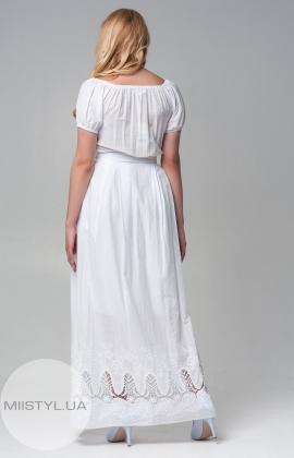 Платье Lilium 2138 белое