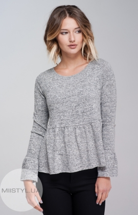 Блуза  La Fama 916 Серый/Меланж