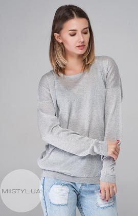 Джемпер Serianno 10C3470 Светло-серый/Люрекс