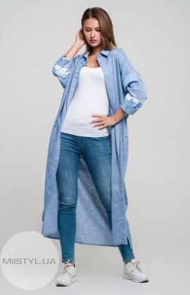 Платье BIZE Fashion 223 Джинсовый