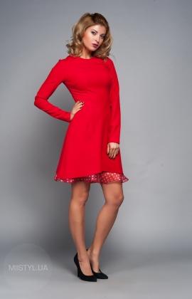 Платье Kosmika 3430 красное