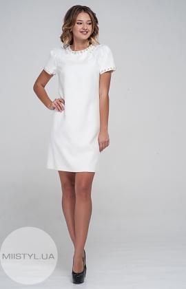 Платье Dojery 02426 Молочный