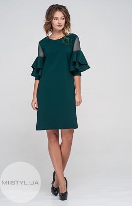 Платье Apple life 1175 Изумрудный