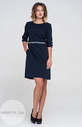 Платье SHN 6038-520 Темно-синий
