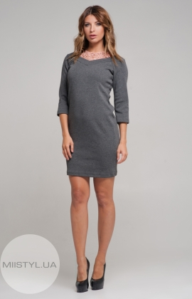 Платье Kosmika 3918 Серый