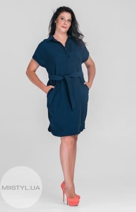 Платье  SHN 6025 Темный-синий