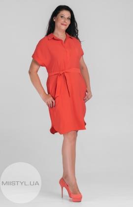 Платье SHN 6025 Коралловый