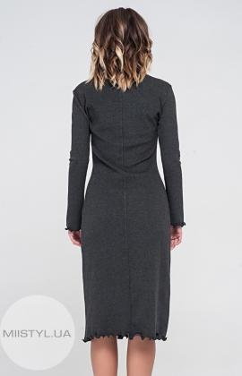 Платье November 40157 Серый