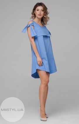 Платье Rica Mare RM1683-17DD Голубой