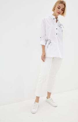 Блуза Rica Mare RM1311-19DB Белый