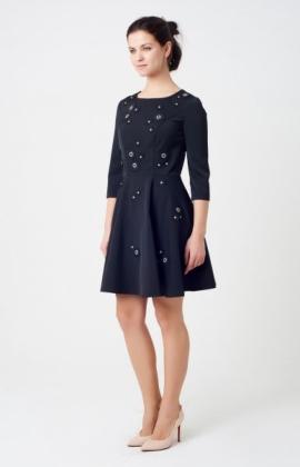 Платье Rica Mare RM1650-16VC Черный