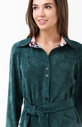 Платье RM1839-1-18DD Зеленый