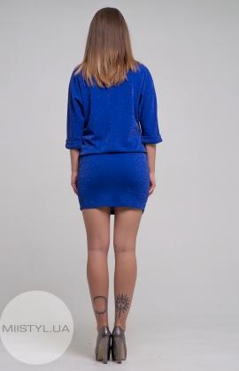 Платье F&K 3234 Электрик/Люрекс