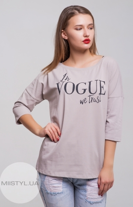 Блуза Giocco 5284 Бежевый/Принт