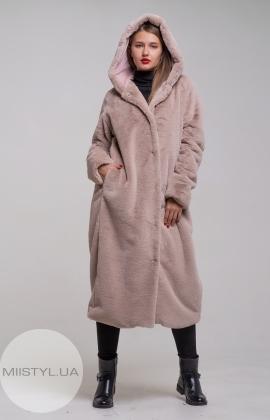 Пальто Barbara Aluisi 03AI19 Бежевый