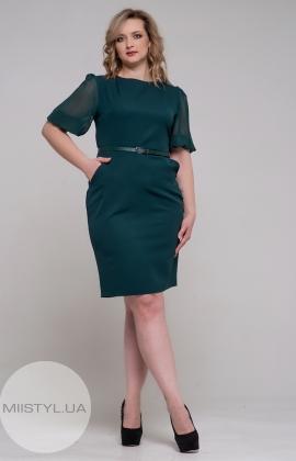 Платье La Fama 1152B Изумрудный