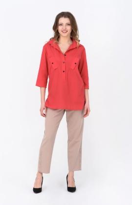 Блуза RM1252-19DB Розовый