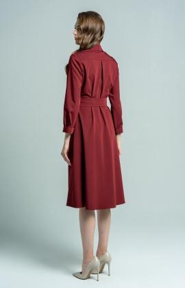 Платье Petra Барбара Бордовый