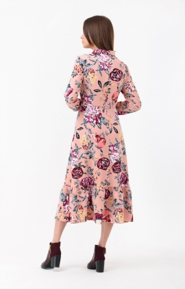 Платье RM1807-18DD Темно-розовый
