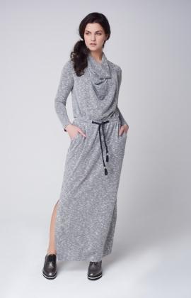 Платье Rica Mare RM1554-1-16DD Черный/Белый