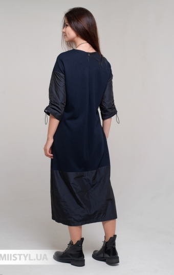 Платье Miss Lilium 11053 Темно-синий