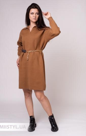Платье Lara 96650 Кемел