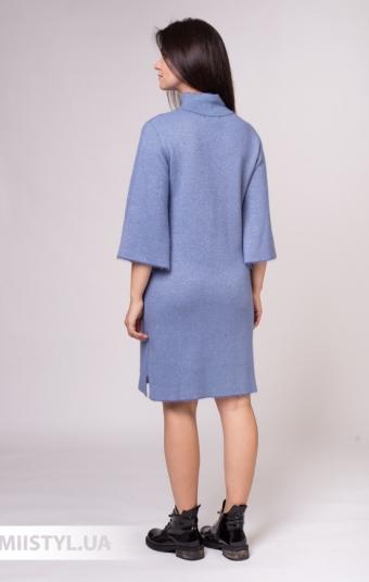 Платье Serianno ELB2250 Индиго/Люрекс