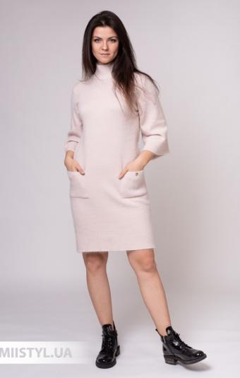 Платье Serianno ELB2250 Пудра/Люрекс