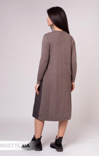 Платье Louise Orop 3014 Темно-бежевый
