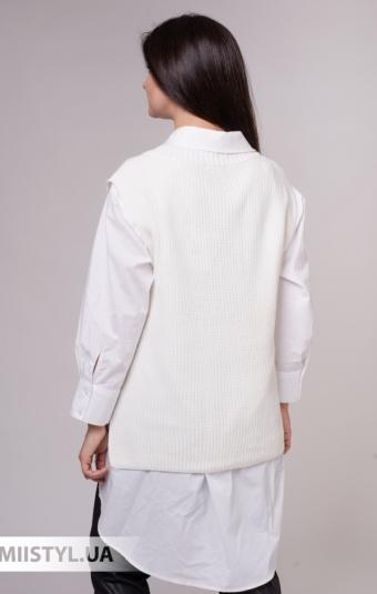 Жилет La Fama 14004 Белый