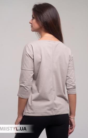 Блуза Giocco 5873 Светло-бежевый/Принт