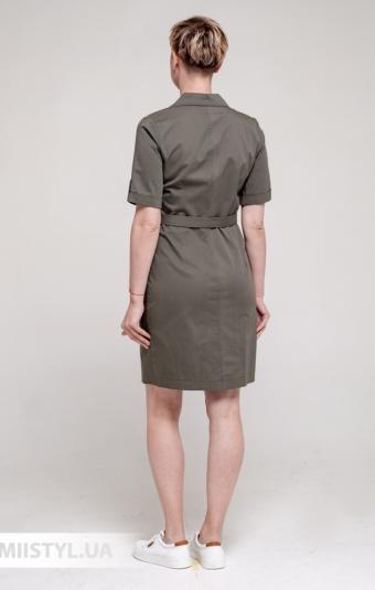 Платье Asil 888/21317 Хаки